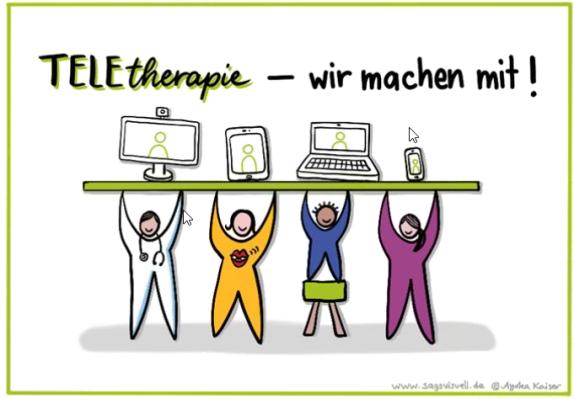Teletherapie wir machen mit